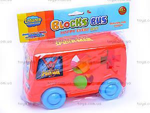 Каталочка автобус «Спайдермен», 666-32, купить