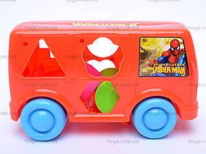 Каталочка автобус «Спайдермен», 666-32, фото