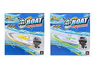 Катер Fast Boat, в ассортименте 2 вида, 3012-3, фото