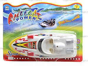 Детский катер на батарейках Speed Boat, 131D, фото