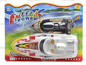Игрушечный катер на батарейках Race Boat, 131-6B, купить