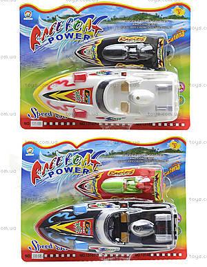 Игрушечный катер на батарейках Race Boat, 131-6B