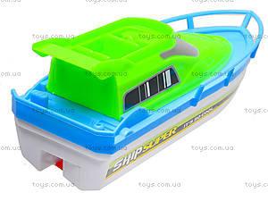 Игрушечный катер на батарейках, 3011-3, купить