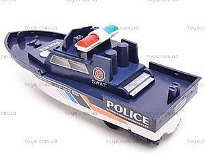 Катер инерционный «SWAT», 999-064G, игрушки
