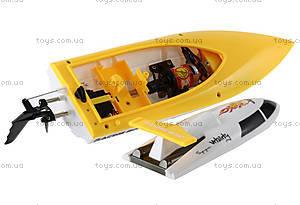 Катер на радиоуправлении Racing Boat FT007, желтый, FL-FT007y, фото