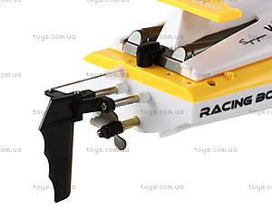 Катер на радиоуправлении Racing Boat FT007, желтый, FL-FT007y, цена