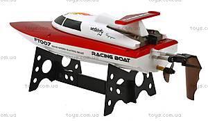 Катер на радиоуправлении Racing Boat FT007, красный, FL-FT007r, купить