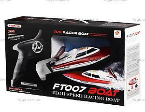 Катер на радиоуправлении Racing Boat FT007, красный, FL-FT007r, цена