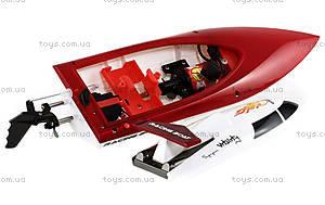 Катер на радиоуправлении Racing Boat FT007, красный, FL-FT007r, игрушки