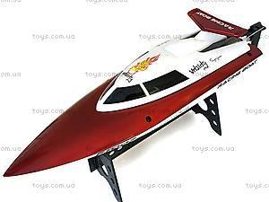 Катер на радиоуправлении Racing Boat FT007, красный, FL-FT007r, магазин игрушек