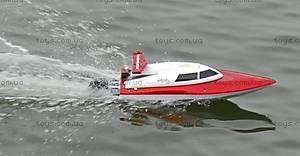 Катер на радиоуправлении Racing Boat FT007, красный, FL-FT007r, toys.com.ua