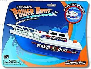 Катер полицейский, игрушечный, K13901