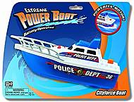 Катер полицейский, игрушечный, K13901, купить