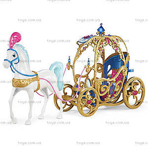 Сказочная карета Золушки с конем «Дисней», CDC44