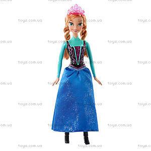 Сказочная кукла-принцесса Дисней из м/ф «Холодное сердце», CJX74, фото