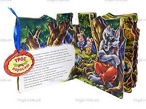 Сказки-домики «Три поросенка», М156016У, фото