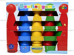 Игрушечный боулинг для детей, 80020