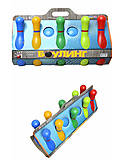 Набор кеглей для боулинга с шарами, 1-002, магазин игрушек