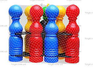 Игрушечные кегли для детей, 39111, купить