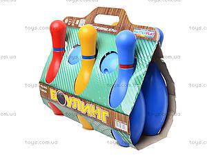 Игровой набор «Кегли для боулинга», 1-001, купить