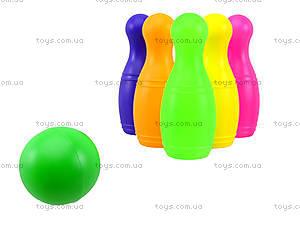 Игровой набор для детей «Кегли» с шарами, 0244, игрушки