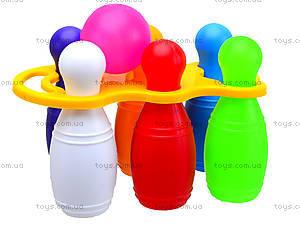 Набор для игры «Кегли» с шаром, 0245, купить