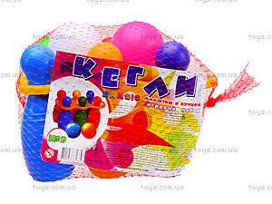 Набор для игры «Кегли» с шаром, 0245, фото