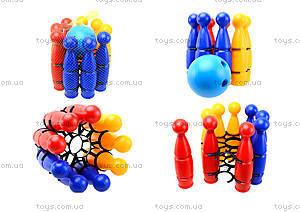 Игрушечные пластмассовые кегли, 1630ср0060701012