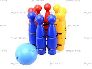 Игрушечные пластмассовые кегли, 1630ср0060701012, отзывы