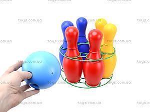 Набор кеглей пластмассовых, 0725ср0060601012, купить