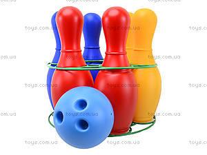 Набор кеглей пластмассовых, 0725ср0060601012, цена
