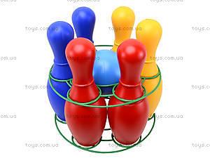 Набор кеглей пластмассовых, 0725ср0060601012, игрушки