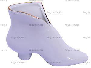 Керамическая ваза «Туфелька», 02758, отзывы