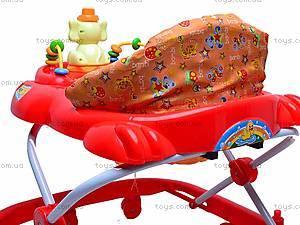 Ходунки детские с игровой панелью, 314, фото