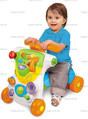 Ходунки-каталка Weina развивающий центр 2 в 1 «Верхом», 2121, детские игрушки