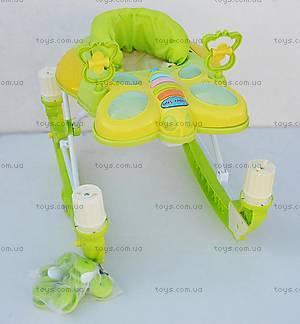 Ходунки с качалкой, зеленые, 2268 GREEN