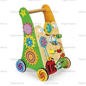 Ходунки-каталка для деток Viga Toys, 59460