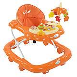 Ходунки оранжевый цвет, D28, интернет магазин22 игрушки Украина