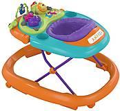 Ходунки Walky Talky,оранжево-бирюзовые, 79540.98, іграшки