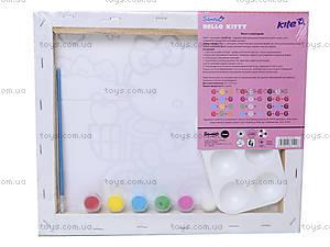 Холст для рисования с контуром Hello Kitty, HK14-218K, фото