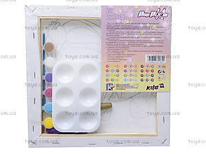Холст для рисования с контуром Pop Pixie, PP14-217K, фото