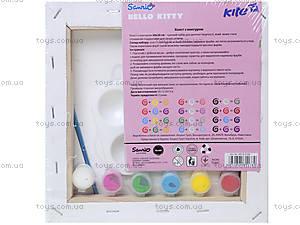 Холст с контурами рисунка «Хелло Китти», HK14-216K, купить