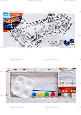 Холст для рисования с контуром машинки от «Hot Wheels», HW14-215K