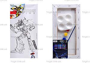 Холст с контуром для рисования «Transformers», TF14-215K