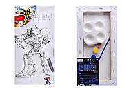 Холст с контуром для рисования «Transformers», TF14-215K, фото
