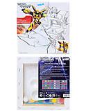Холст с контуром Transformers, для рисования, TF14-216K