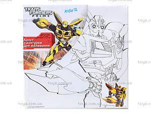 Холст с контуром Transformers, для рисования, TF14-216K, фото