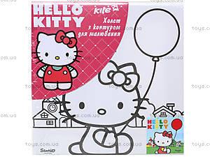 Холст с контуром «Хелло Китти», HK14-216_2K