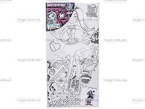 Холст с контуром рисунка Monster High, MH14-215K