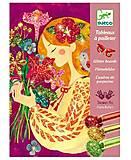 Художественный комплект рисование блестками «Аромат цветов», DJ09508, фото
